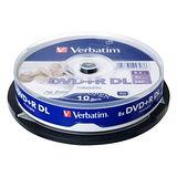 威寶 Life版 8X DVD+R DL 滿版可印 桶裝 (10片)