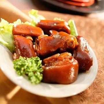 《西井村蜂蜜滷味》招牌豬蹄花(550公克 x 1包)