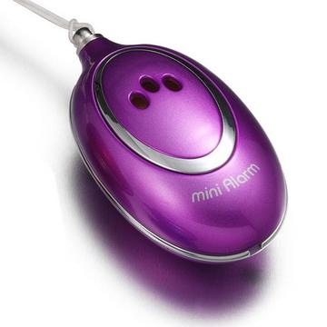 【Marvelmax】迷你隨身警報器(亮紫色)美女必備