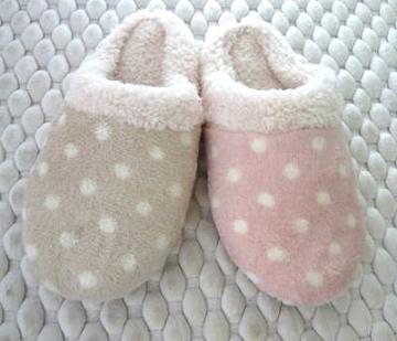 (e鞋院)【雪糕點點 】舒適室內拖鞋(限量8折)