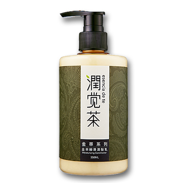 【茶寶 潤覺茶】金萃瞬澤潤髮乳(350ml)一般及受損髮質適用