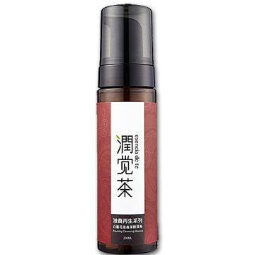 【茶寶 潤覺茶】白薑花滋養潔顏慕斯(200ml)一般及乾性膚質適用