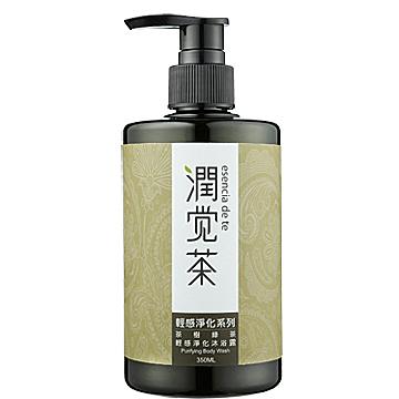 【茶寶 潤覺茶】茶樹綠茶輕感淨化洗髮露(350ml)一般及油性髮質適用