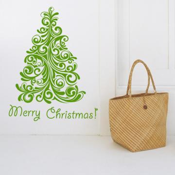 【Smart Design】創意無痕壁貼◆時尚聖誕樹