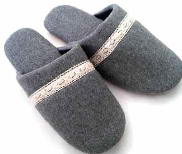 (e鞋院)【古典蕾絲】舒適室內拖鞋 (限量8折)