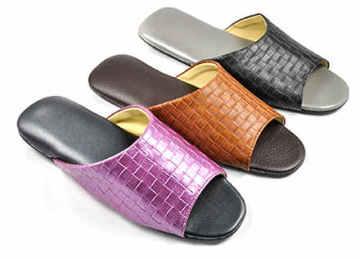 (e鞋院)秋意編織紋舒適室內拖鞋 ~強擋新品~