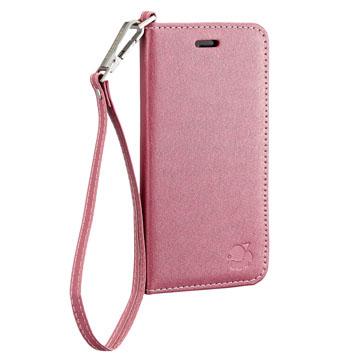 daruma Silk I Phone6 4.7吋 側掀式皮套,附吊繩