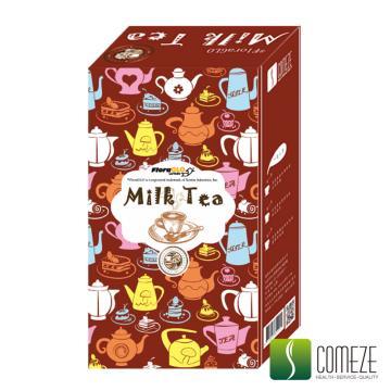 COMEZE康澤 一泡三享-葉黃素奶茶(10包/盒)