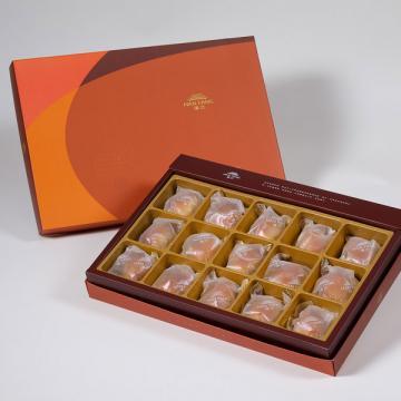 漢坊【御藏】焦糖栗子15入禮盒(蛋奶素)