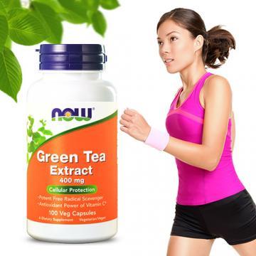 NOW健而婷─左旋C綠茶萃取(100顆/瓶)