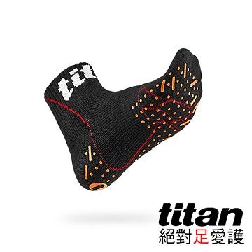 Titan側向運動襪-Elite[黑]