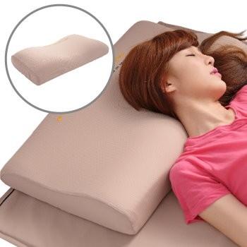 《美加寶》【樂活優眠型】遠紅外線健康舒壓枕 (高度12 cm) (第二代能量加強型)