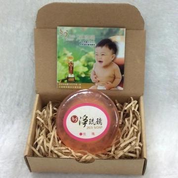 【中秋特賣會買二送一】《淨琉璃ZEN SOAP》手工美容皂【100g】(紅)玫瑰