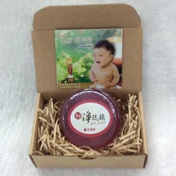 【中秋特賣會買二送一】《淨琉璃ZEN SOAP》手工美容皂【100g】(紫)紫羅蘭