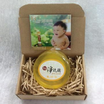 【中秋特賣會買二送一】《淨琉璃ZEN SOAP》手工美容皂【100g】三宅一生(黃色)