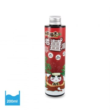 木酢天然老薑湯200ml(紅)【#23802】,來自天然木酢與食材老薑萃取