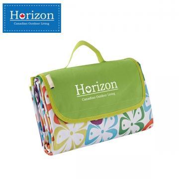 【Horizon 天際線】防潮沙灘野餐墊 - 附防水收納袋 ( 五葉花 )