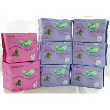 【芫茂UFT】自然草本衛生棉 - 清新日用6包夜用2包