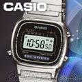 CASIO 時計屋 卡西歐電子錶 LA-670WD LA670WD 銀質復古型秀氣淑女錶 三折式錶扣