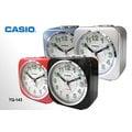 CASIO 時計屋 卡西歐鬧鐘 TQ-143 指針型電子音鬧鐘(含貪睡功能) 4色發售中 全新 保固