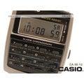 CASIO 時計屋 卡西歐手錶 計算機膠質帶腕錶 CA-56-1D 防水 好帶好計算 全新 保固 開發票