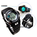 G-7700-1DR 卡西歐 CASIO G-SHOCK 電子錶 黑色橡膠 46mm 男錶 時間玩家 G-7700-1