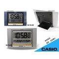 CASIO 時計屋 卡西歐 掛鐘 ID-16 (ID-16S) 坐掛兩用掛鐘 溫度 溼度顯示