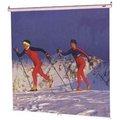 REDLEAF 100吋壁掛式布幕 RED LEAF 84吋 x 84吋 可視面積尺寸:寬213 × 高213公分 100吋壁掛銀幕手拉式布幕