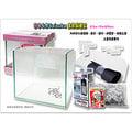 【魚舖子】日本水作Suisaku 金魚飼養套缸(玻璃款23x15x25cm)~精緻漂亮又便宜