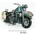 1936寶馬R12型摩托車模型 古董車 機車
