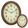 東方ORIENT簡單大方橢圓時鐘C2202/時鐘/掛鐘
