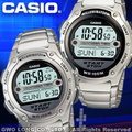 CASIO 手錶專賣店 國隆 W-756D 不鏽鋼數字運動男錶 學生最愛 運動系列款(另W-756)保固一年 開發票