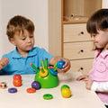 《倩之屋》Dusyma仙人掌《色彩豐富,提供幼兒手部動作的啟發,串入、拔出…增進感知能力》