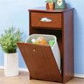 「預購」《Homelike》典雅歐風垃圾桶櫃 收納櫃 置物櫃 電話桌 面紙盒