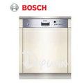 BOSCH 12人份嵌入式不銹鋼面板洗碗機 SGI55M05TC **免運費+基本安裝+載走舊機**