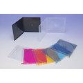 DigiStone單片超薄 5mm CD/DVD硬殼收納盒/彩色硬盒 200PCS=台灣精品,台灣製造!!!
