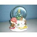美國進口精品 史努比 Snoopy 聖誕水晶球音樂盒 耶誕最佳禮物 O\