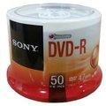 【索尼 Sony 光碟片】索尼SONY DVD-R 16X 4.7GB 布丁筒/DVD空白片 (50片/筒)