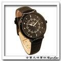 真愛金飾網『NATURALLY JOJO』璀璨萬花筒 黑面皮帶 手錶 no.167723、162080