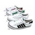 美迪-中國強-CH81經典帆布鞋-白/白黑~不濕不臭鞋墊-男女共用-台灣製