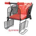 HY-兒童自行車安全座椅置於腳踏車後貨架(後座專用) 台灣製造 貨到付款不加價