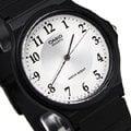 MQ-24-7B3 卡西歐 CASIO 指針錶 白面 數字時刻 黑色橡膠錶帶 35mm 男錶 女錶 MQ-24-7B3LDF