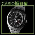 CASIO 時計屋 SEIKO 手錶 SNZD49J1 黑鋼條紋運動機械腕錶 全新保固