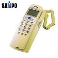 A07109  《聲寶》SAMPO 可壁掛有線電話-鵝黃 HT-B906WL