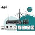 高傳真音響【MIPRO ACT-52B】UHF雙頻自動選訊無線麥克風【搭】耳掛式麥克風 教學.主持.會議