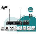 高傳真音響【MIPRO ACT-52B】雙頻道無線麥克風【搭】領夾式麥克風│教學.發表會