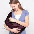 【Garden逛花園背巾】本月特賣~輕巧背巾~Ezsling-仲夏黑櫻桃~媽媽餵奶好揹巾~附使用光碟