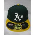 新莊新太陽 MLB 美國職棒 大聯盟 NEW ERA 5711346-026 運動家隊 選手 球員帽 特1200