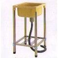 《日成》塑膠水槽-不銹鋼腳架48.5×40.5公分.檯面不能裝水龍頭