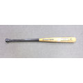 「野球魂」--「EASTON」「楓竹合成」硬式棒球木棒(B-60,原木×黑色)